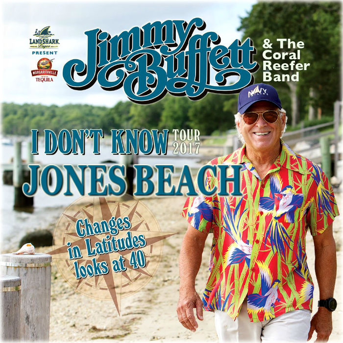 Jimmy Buffett And The C Reefer Band Will Lead Annual Parrothead Pilgrimage To Jones Beach Theater On Aug