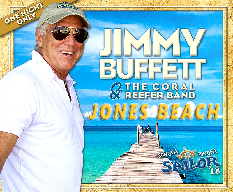 Jimmy Buffett & The Coral Reefers - Aug 2, 2018